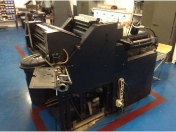 Sheet Offset Printing Machines AB Dick 8-9805}
