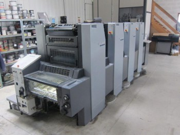 Sheet Offset Printing Machines Heidelberg Speedmaster SM 52-4 +}