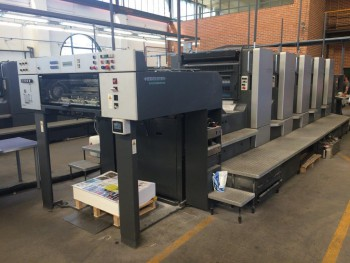 Sheet Offset Printing Machines Heidelberg Speedmaster CD 102-5 (like new, fully overhauled)!}