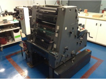Sheet Offset Printing Machines Heidelberg GTO 52-1 +}