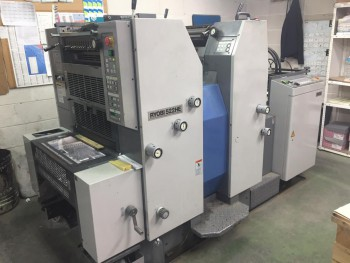 Sheet Offset Printing Machines Ryobi 522 HE}